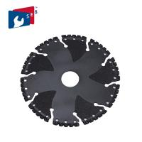 Buy cheap PVC Iron Ductile Steel Rebar Vacuum Brazed Diamond Tools Rescue Demolition Blade from Wholesalers