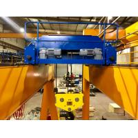 Buy cheap Low Consumption Low Headroom Hoist Heavy Duty Electric Winch 50T In Yellow from wholesalers
