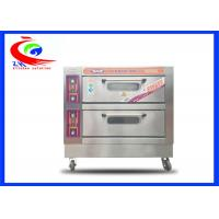 China Commercial Baking Equipment / Oven for Electric Fast Food Pizza Oven with wheel factory