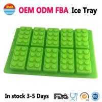 Buy cheap Amazon Cool Big Giant Large Lego Ice Tray Block Silicone Molds Ice Cube Mould for Drinks from Wholesalers