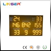 China Simple Cabinet Custom Digital Cricket Scoreboard 100000 Hours LED Life factory