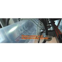 China Gusseted Poly Tubing, Multi-purpose Poly tubing, 4 Mil Anti-Static Poly Tubing, LDPE thick factory