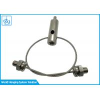 China Cable Suspension Systems With Aircraft 1.2mm Cable For Light Fixtures factory