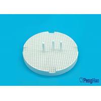 Buy cheap Ceramic / Porcelain Honeycomb Firing Tray Round Shape For Dental Laboratory from Wholesalers
