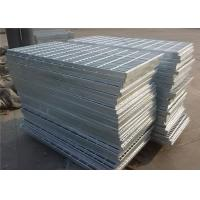 Buy cheap Flat Stair  Gully  Galvanized Serrated Grating 30 X 4mm With 6X6 Or  8X8mm Bar from Wholesalers