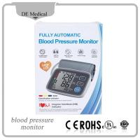 Buy cheap CE & FDA approved Digital Blood Pressure Monitor Automatic Sphygmomanometer for Adult BP Monitor Large LCD from Wholesalers