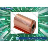 China Double Shiny  RA Copper Foil For FPC ,Roll Size  Maximum Width 650 factory