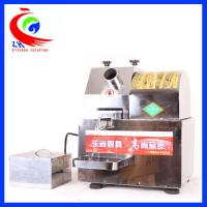 China Stainless Steel Juice Extractor Machine , Dual Power Sugar Cane Juice Machine factory