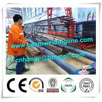 China Tank Welding Tower Production Line , Rebar Cage Winding Machine factory