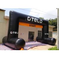 China Black Custom Inflatable Arch Oxford Cloth Material UV Protection factory