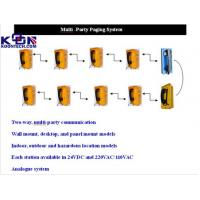 Buy cheap Custom Telephone Paging System for Elevator / power plants / TBM Machine from Wholesalers
