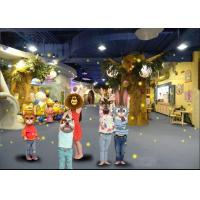 China Multi Media Projection Family Amusement Center With Wonderland Theme factory