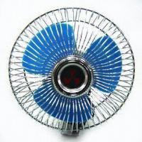 China Car Fan with Working Voltage of 12/24V factory