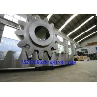 Buy cheap Shaft Mounted Forging Steel Bevel Gears , Straight Spur Gear Helical Teeth from Wholesalers