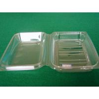 China Eco Rectangle Food Grade Plastic Thermoforming Tray Custom For Food Packaging factory