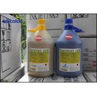 China Spectra Polaris 15PL Flora Solvent Ink 4 Liters / Bottle For Advertising Printing factory