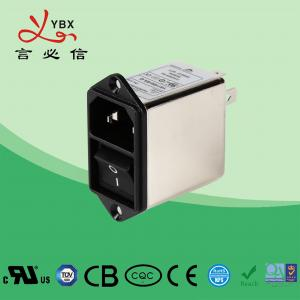 China Screw 250V EMI Power Filter 21*24 Switch For Coffee Vending OEM Service factory