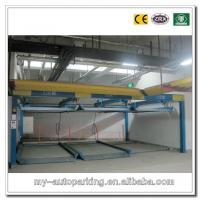 Buy cheap 2 Levels Two Floors Full Automatic Computer Control Puzzle Vertical Car Parking System from Wholesalers