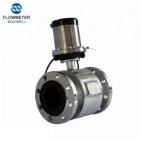 Quality Analog Emg Ss316 Electrode Flowmeter Water Flow Meter Battery Type for sale