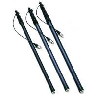 China light weight 5 - section microphone carbon fiber Boom Pole / boompole 9FT factory