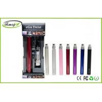 Buy cheap Ego C Twist E Cigarette Pen Style Ce4 Blister Variable Voltage 3.2v – 4.8v from Wholesalers