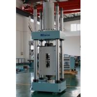 China HUT-1000D Single Space Hydraulic Servo Universal Testing Machines, Limit protection, automatic extensometer factory
