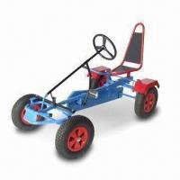 China Go Kart with Durable Steel Fender and Pneumatic Rubber Air Tires factory