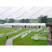 Buy cheap Aluminum Struceture White Outdoor Tent PVC Sidewalls Contain More Than 500 People from Wholesalers