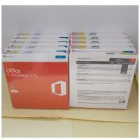 Buy cheap Original Microsoft Office 2016 Pro Plus Retail Key With DVD Retail Box Package from Wholesalers