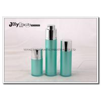 Buy cheap Green Rotatable Airless Plastic Cosmetic Bottles Acrylic For Cream 15ml from Wholesalers