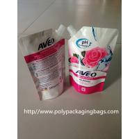 China Laminated Spouted Pouches Packaging Poly Bags for Soybean Milk on sale