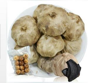 China Fermented Black garlic 450g packing factory