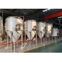 China 500L Stainless Steel 304 Conical Beer Fermentation Tank Beer Fermenting Equipment Fermenter factory