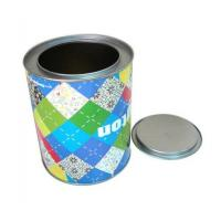 China Custom printing round sweet tin boxes wholesaler factory