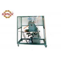 China Semi Auto Strapping Machine Flexible Operation Black Color 145kg Weight factory