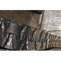 China Less Vibration Track Loader Rubber Tracks T320*86K Flexible With 48 - 52 Links factory