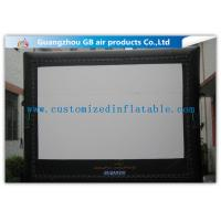 Buy cheap 6 X 5m Inflatable Cinema Screen Projection Screen Rentals For Film Show from Wholesalers