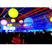 Buy cheap DMX512 2m Inflatable Lighting Decoration With RGBW 400W Led For Stage Events from Wholesalers