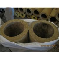 China Rigid rock wool pipe insulation, rock wool pipe section factory