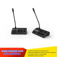 Buy cheap Digital Gooseneck Wireless Conference Microphone ABS Material Black Color from Wholesalers
