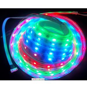 5V HL1606 IP67 LED Strip Lighting White PCB
