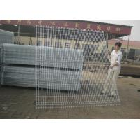 China Wire Mesh Fence Panels , Euro Mesh Fencing With 3.00-5.00mm Wire Diameter on sale