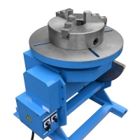 China CE Automatic  5T Tilt Lift Benchtop Pipe Rotary Welding Positioner Turntable factory