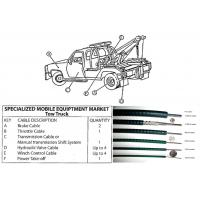Buy cheap Assembly Mechanical Control Cable For Tow Truck Locking Control Cable ISO9001 Passed from Wholesalers