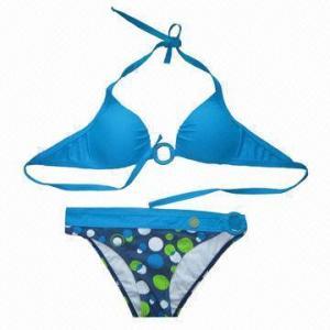 China 200gsm Bikini, Made of 80% Nylon and 20% Spandex on sale