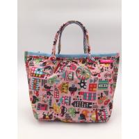 Colorful 210D Ripstop Polyester Handbags Ladies Fashion Handbags Reusable