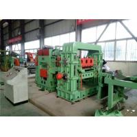 China CR SS  Rotary Shear Cut To Length Line  Sheet Stacker For Precision Leveling Cutting Products factory