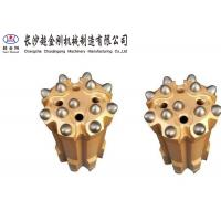 China Alloy Steel Thread Button Drill Bits , Rock Drill Accessories Corrosion Resistant factory