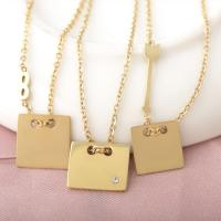 Buy cheap Gold Plated Stainless Steel Necklace for your sweater, Stainless Steel Infinity Necklace, Stainless Steel Name Necklace from Wholesalers