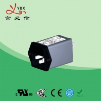 China Yanbixin Waterproof Electrical Line Noise Filter Low Pass 10A 120V 250VAC factory